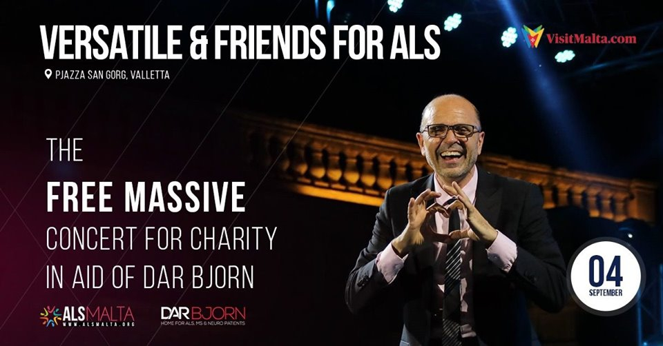 Versatile & Friends for ALS 2019