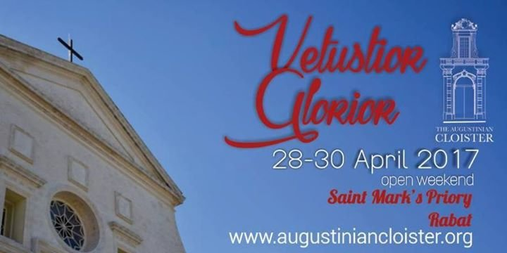 Vetustior Glorior - the Augustinian Cloister #Rabat open weekend