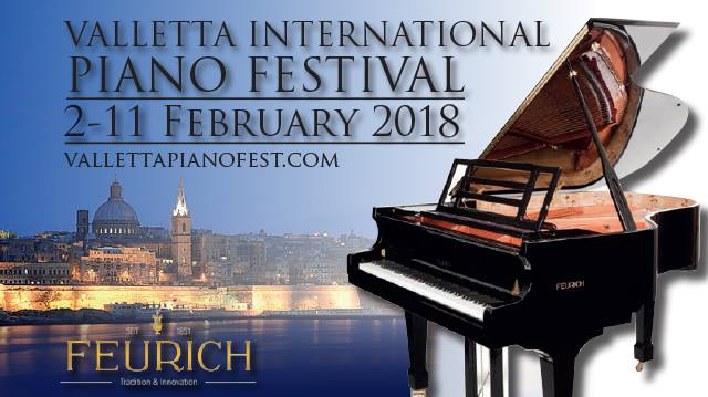 VI Valletta International PIANO Festival