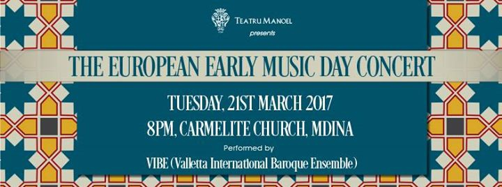 VIBE in Mdina: European Day of Early Music