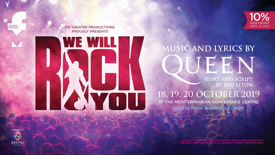 We Will Rock You - The Musical By Queen