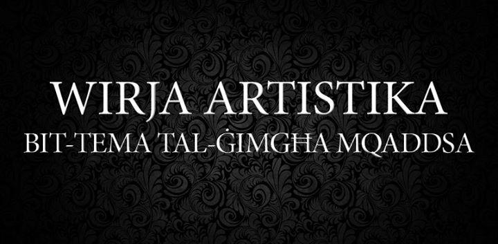 Wirja Artistika bit-Tema tal-Ġimgħa Mqaddsa