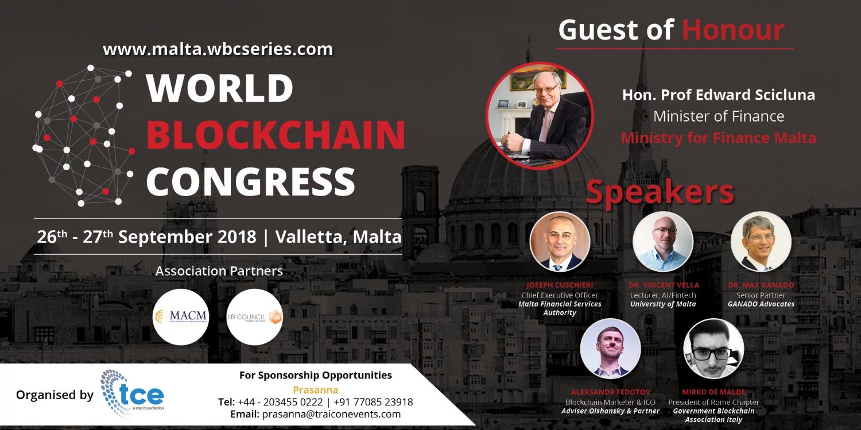 World Blockchain Congress Malta 2018