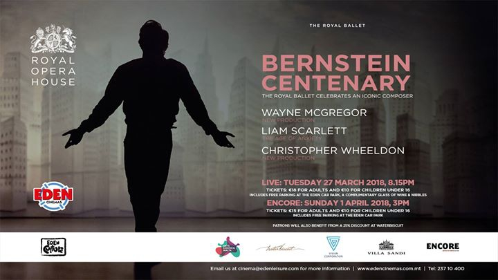 Worldwide centennial celebration of Leonard Bernstein