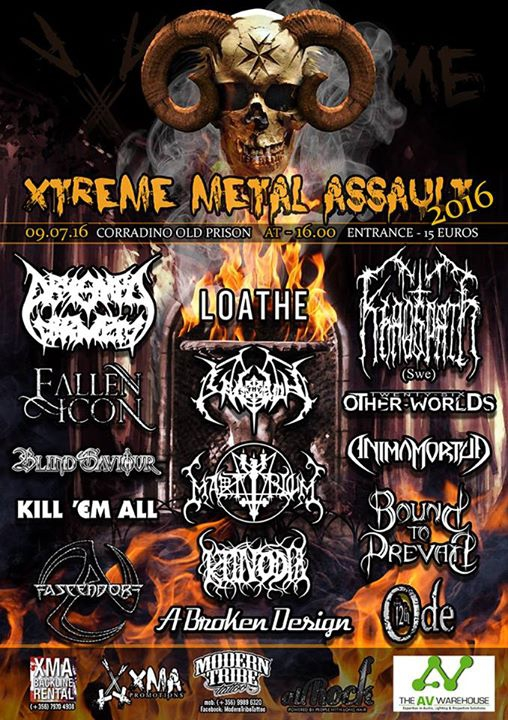 Xtreme Metal Assault 2016