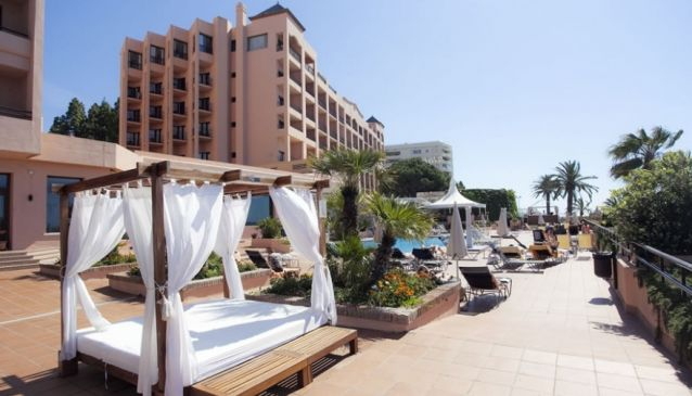 A Little Outside Marbella In Elviria You Will Find The Don Carlos Hotel This 5 Resort Is Set 40 000sqm Of Tropical Gardens