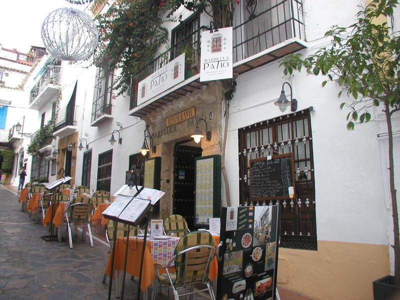 Marbella Patio Restaurant In