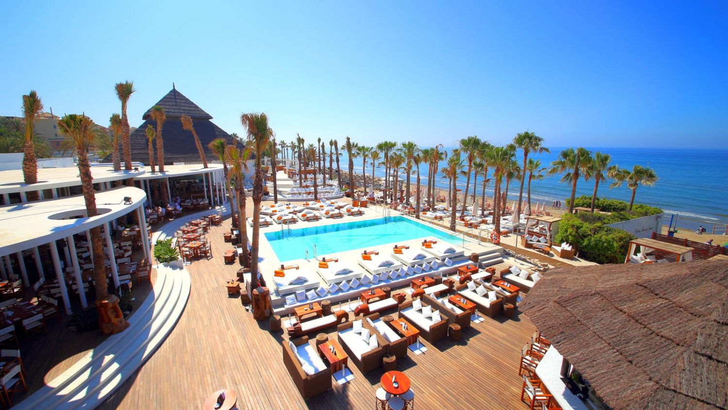 Beach Clubs with Djs in Marbella