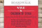 Children of Syria Charity evening
