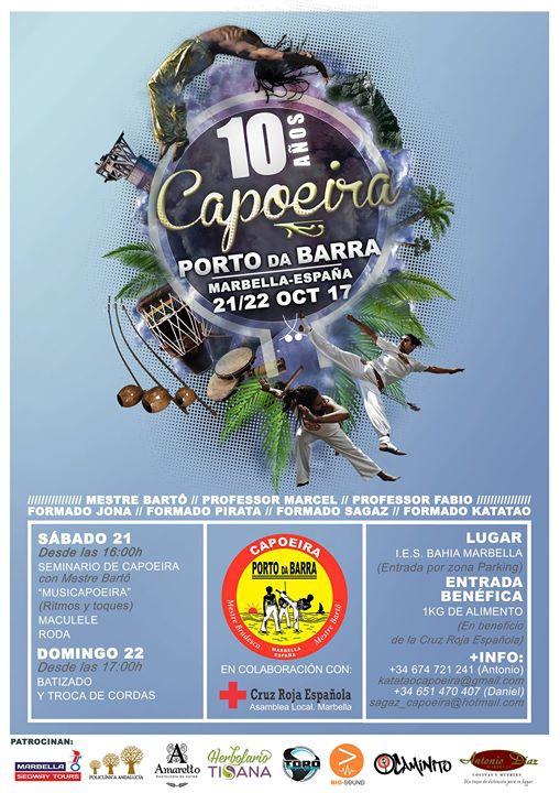 10º Aniversario Capoeira Porto da Barra Marbella