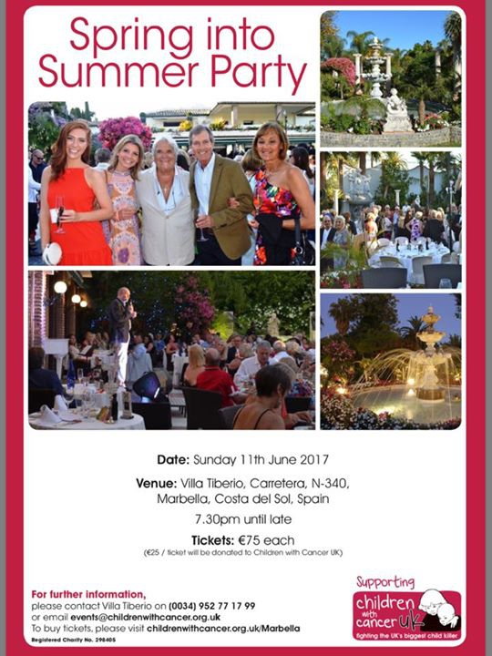 10th anniversary Gala dinner in aid of Children with Cancer Uk