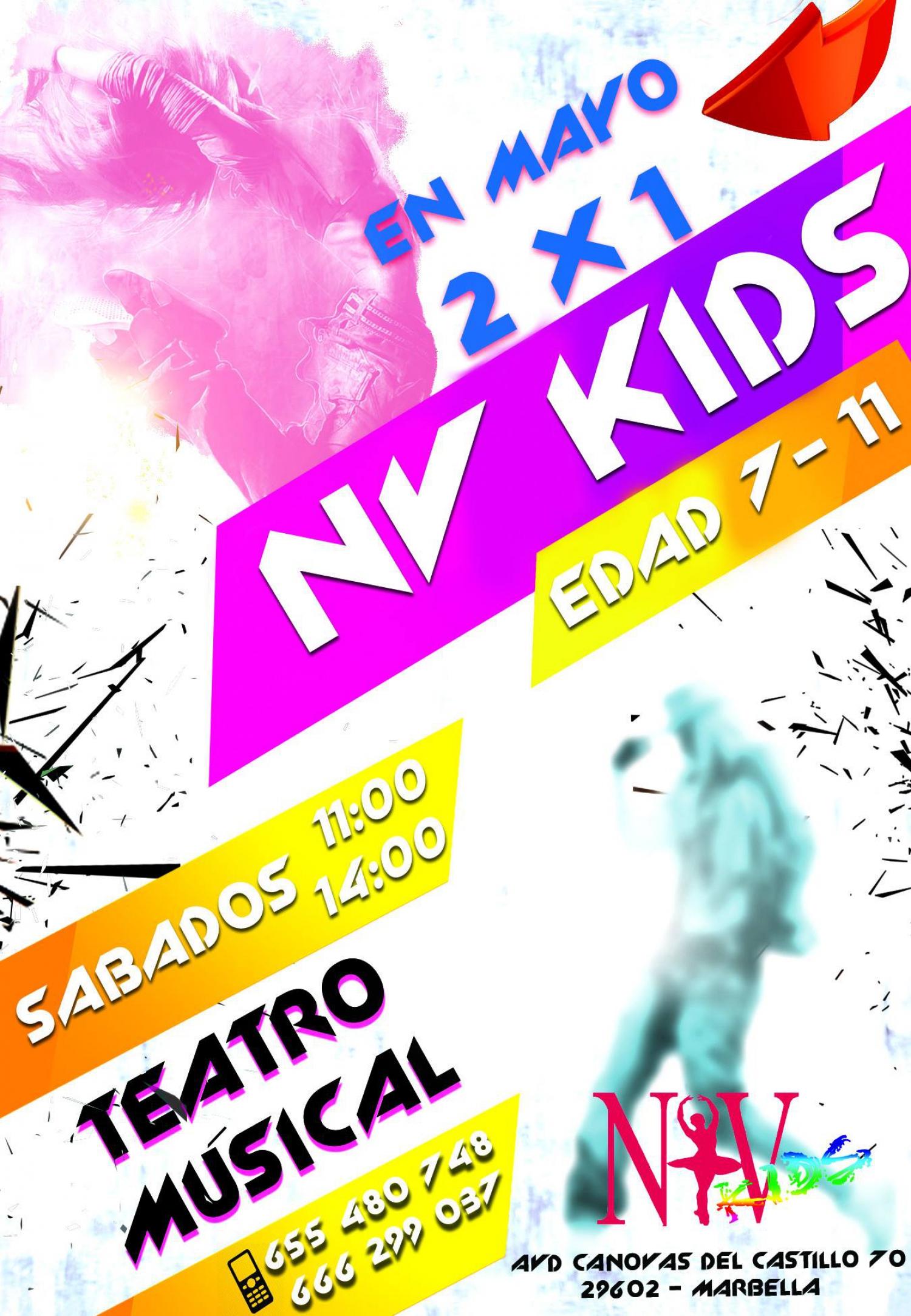 2X1 Musical Theatre classes
