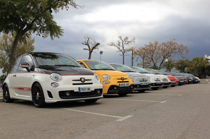 Abarth Club Marbella - 3rd Meeting!