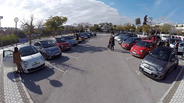 Abarth Club Marbella - 4th Meeting!