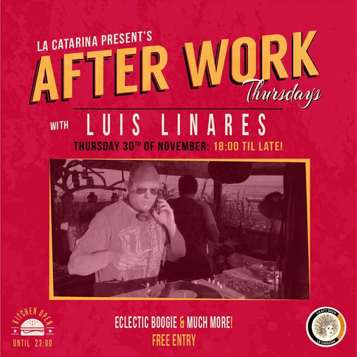 After Work Thursdays: Luis Linares