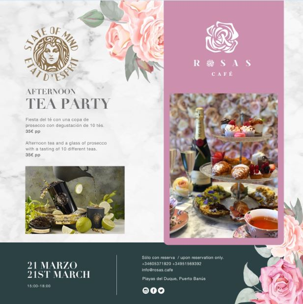 Afternoon Tea Party @ Rosas Cafe