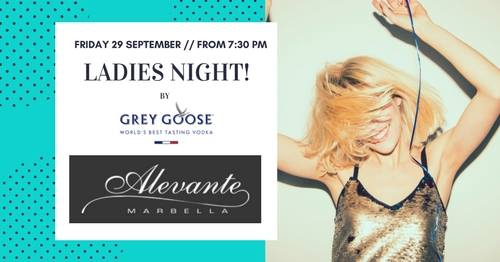Alevante Ladies Night! / Yacht club Marbella