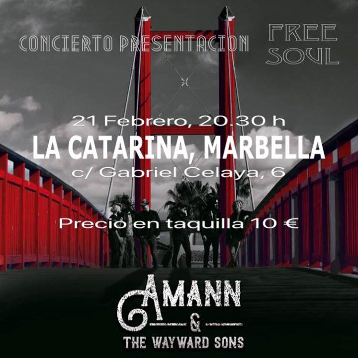 Amann & the Wayward Sons en Marbella