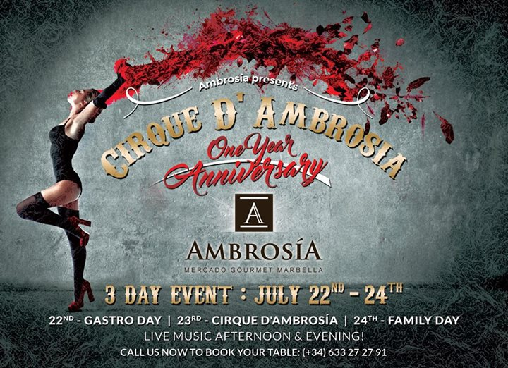 Ambrosia 1 Year Anniversary Celebration