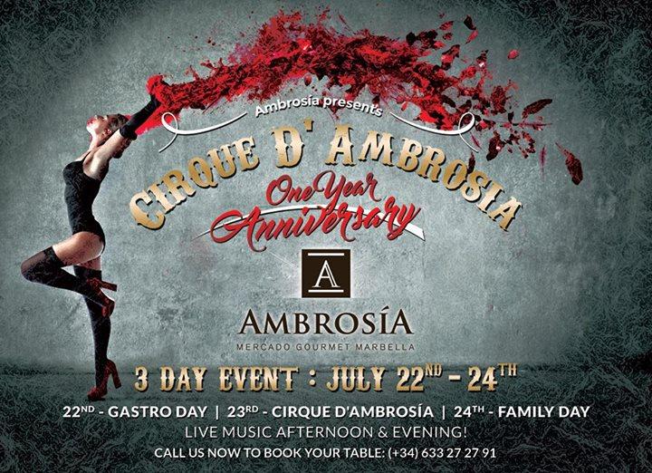 Ambrosia 1 Year Anniversary Celebration