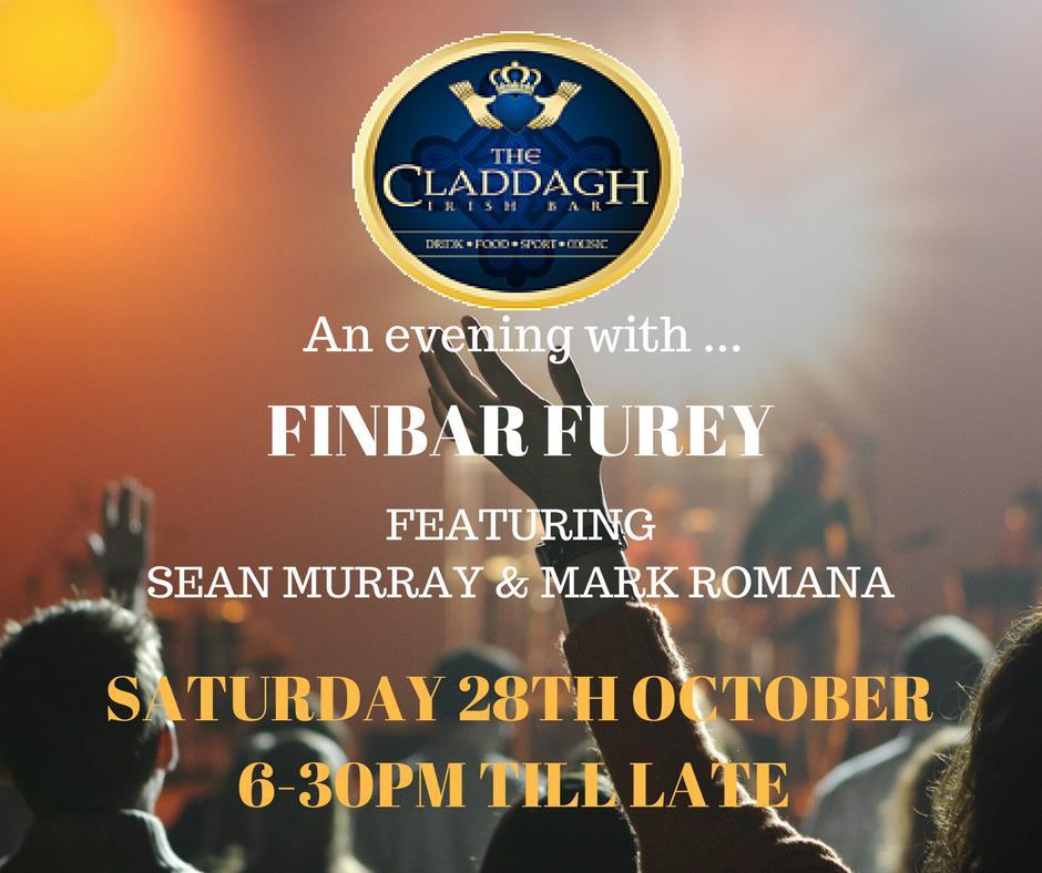 An Evening with Finbar Furey featuring Sean Murray & Mark Romana