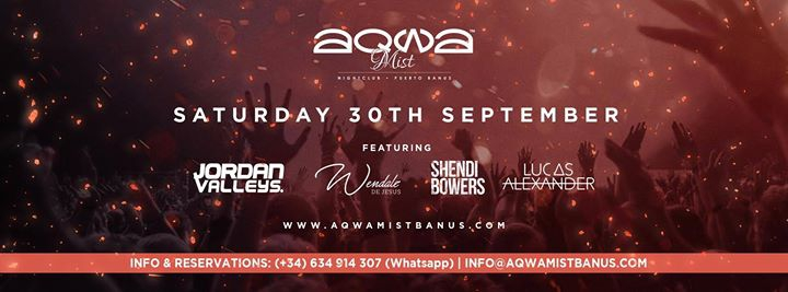 Aqwa Saturdays | 30.09.17