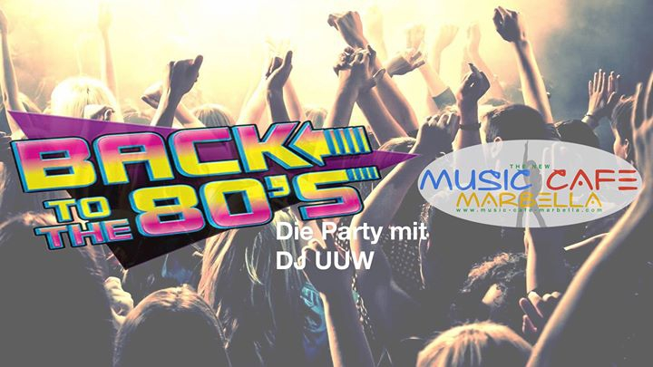 Back to the 80s. Die Party