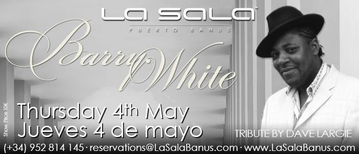 Barry White Tribute