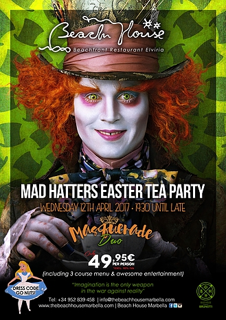 Beach House Mad Hatters Easter Tea Party