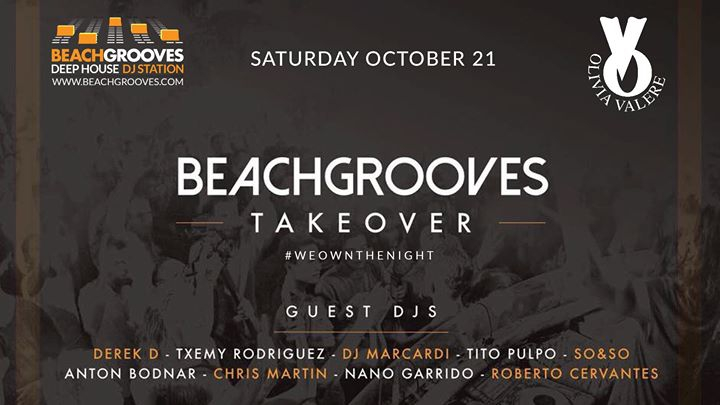 BeachGrooves Takeover