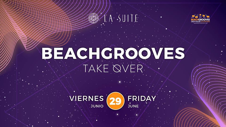 Beachgrooves Takeover at La Suite