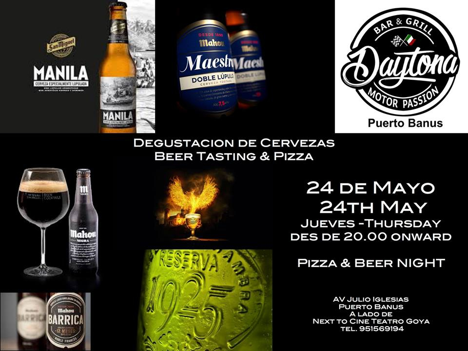 Beer and Pizza tasting