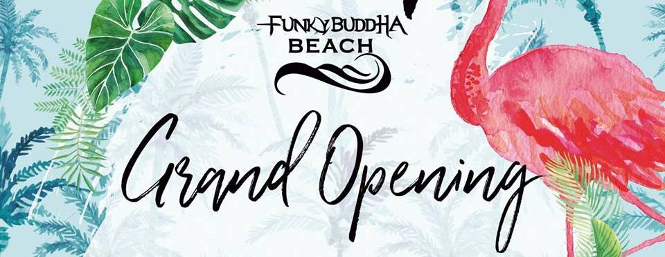 BIG SUMMER OPENING & Funky Buddha Beach