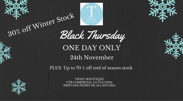 Black Thursday- One Day Only