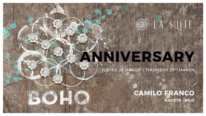 BOHO Anniversary