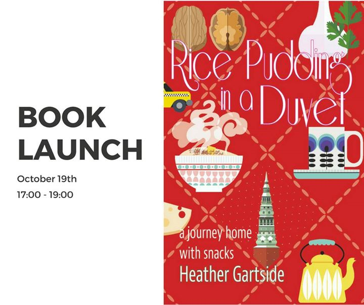 Book Signing - 'Rice Pudding in a Duvet' by Heather Gartside