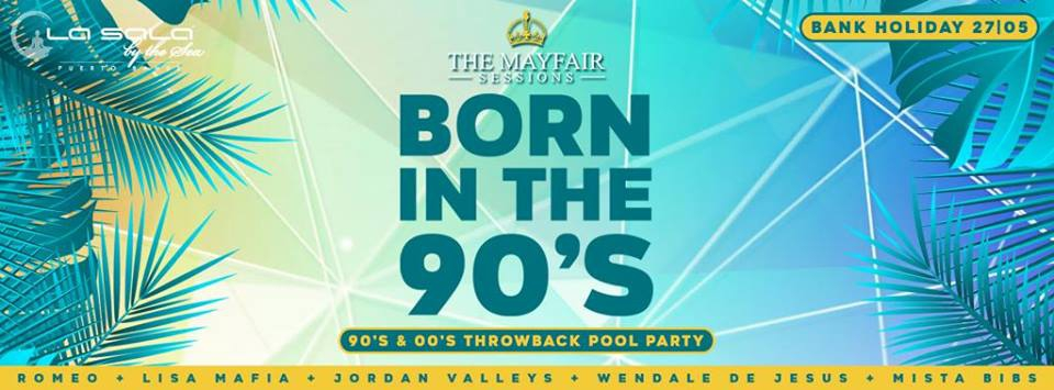 Born in the 90´s Pool Party