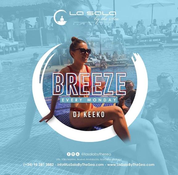 Breeze every Monday at La Sala by the Sea