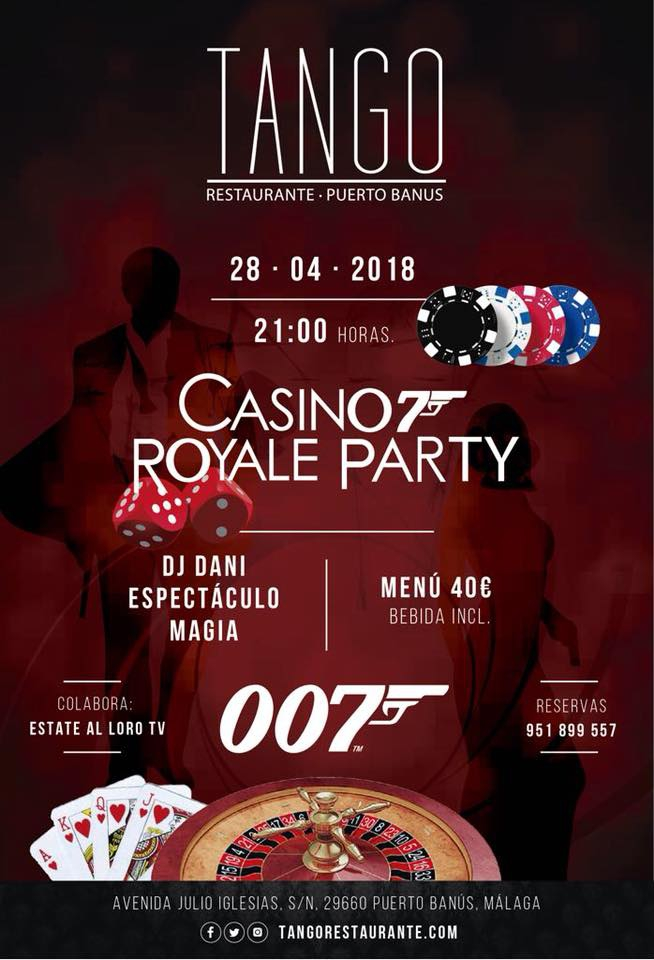 Casino Royale Party at Tango