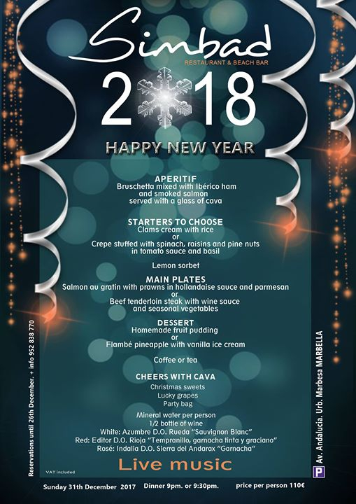 Celebrate with us ! HAPPY New YEAR 2018