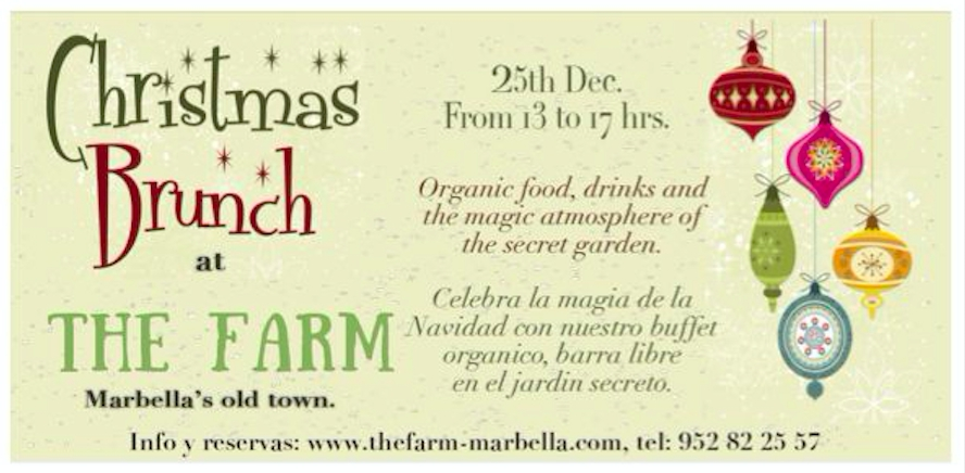 CHRISTMAS BRUNCH at THE FARM