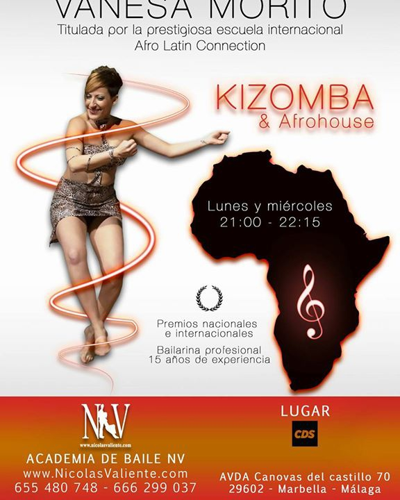 Clases De Kizomba Y Afro  House