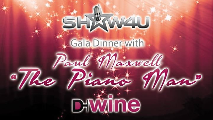 D-Wine Gala Dinner with 'The Piano Man'