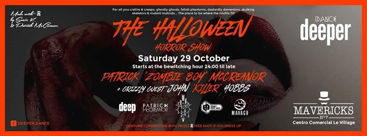 Dance Deeper presents The Halloween Horror Show