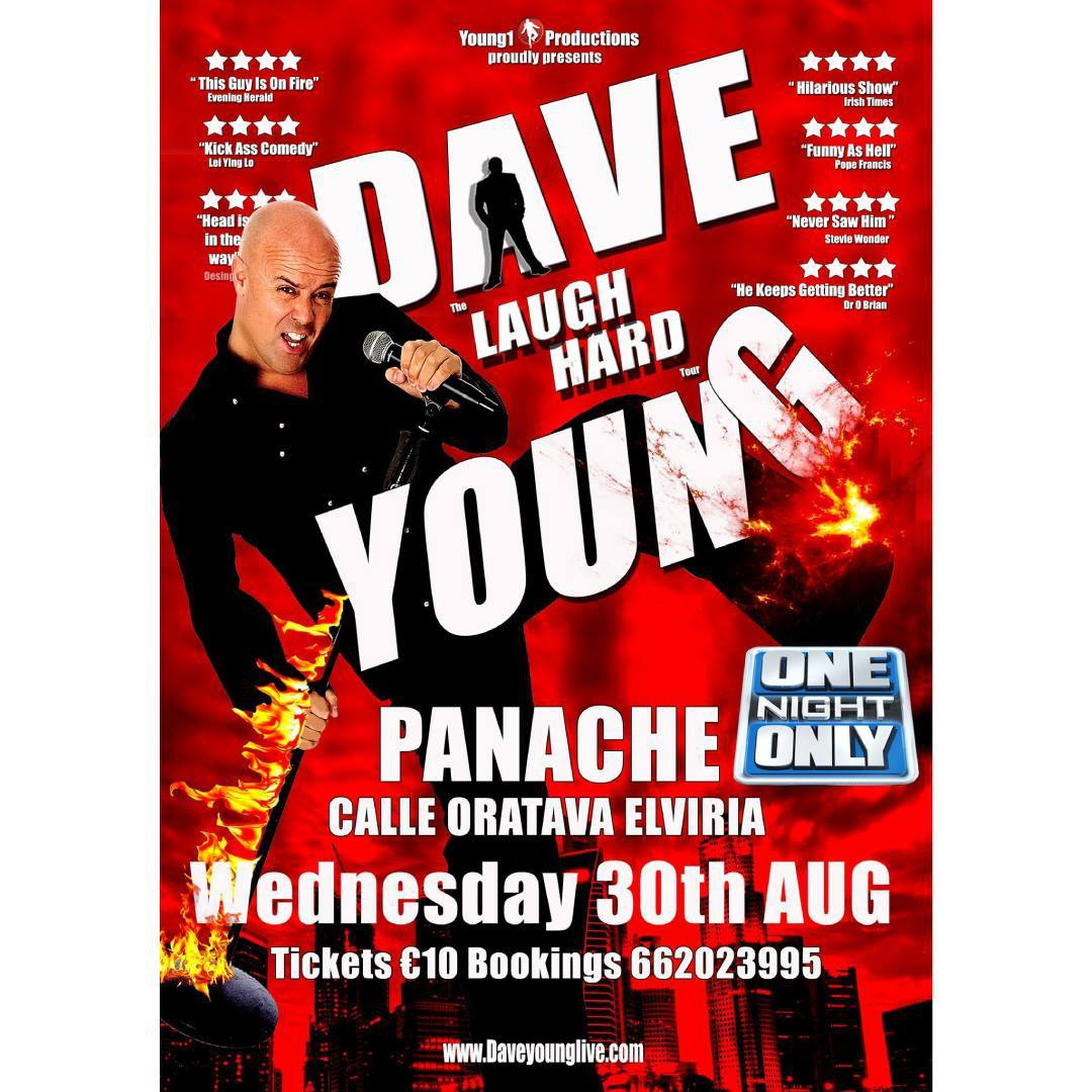 Dave Young at Panache Brasserie