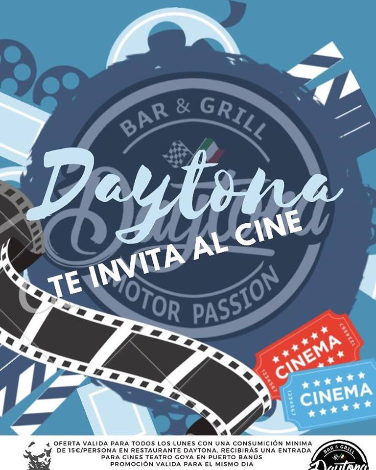 Daytona invites you to the Cinema