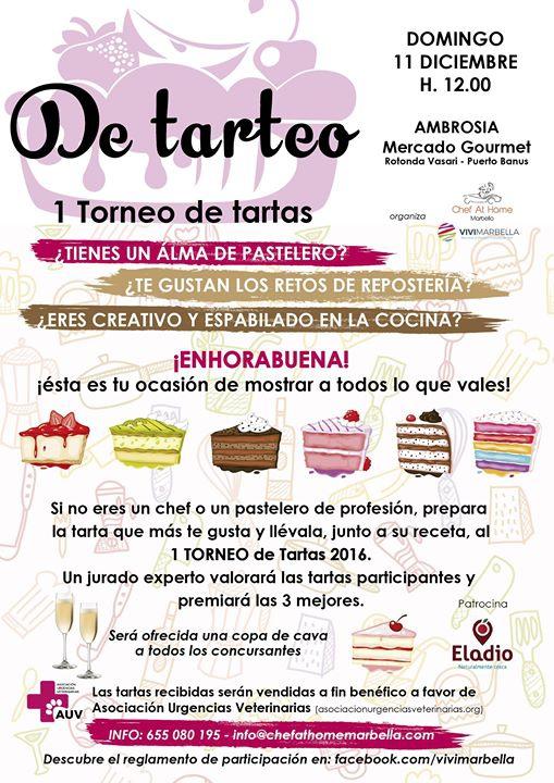 De tarteo - 1 Torneo de tartas amateur