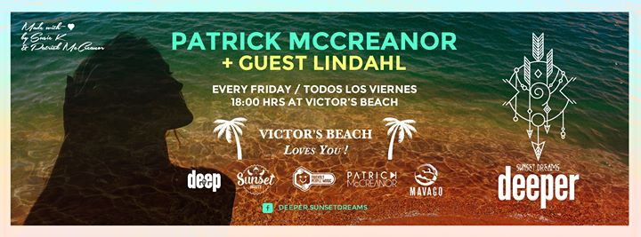 Deeper *Sunset Dreams* Fri 26 at Victors Beach