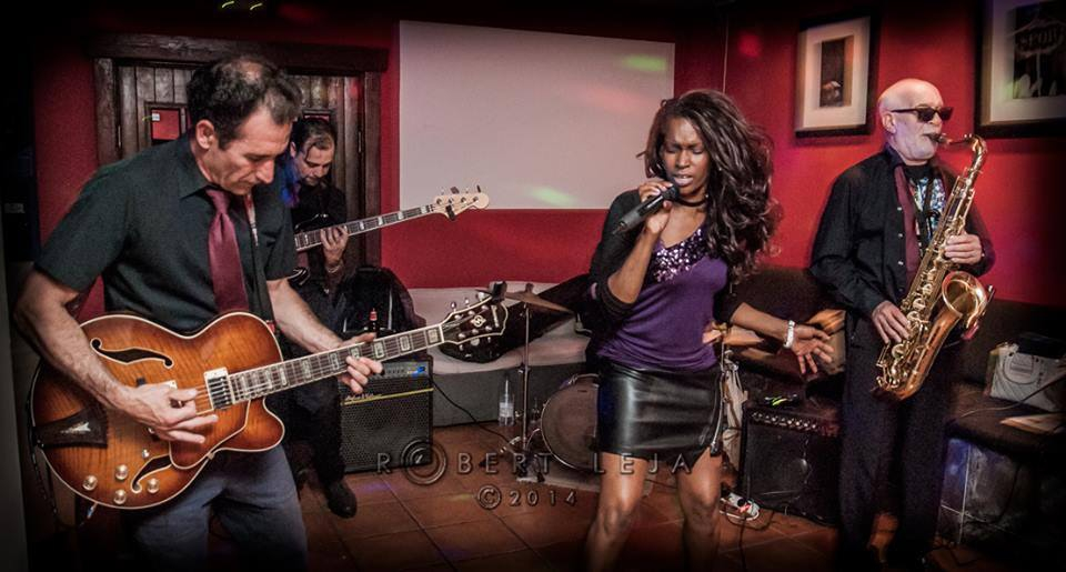 Dinner & Live music with Gilly Jaxson and her soul blues band