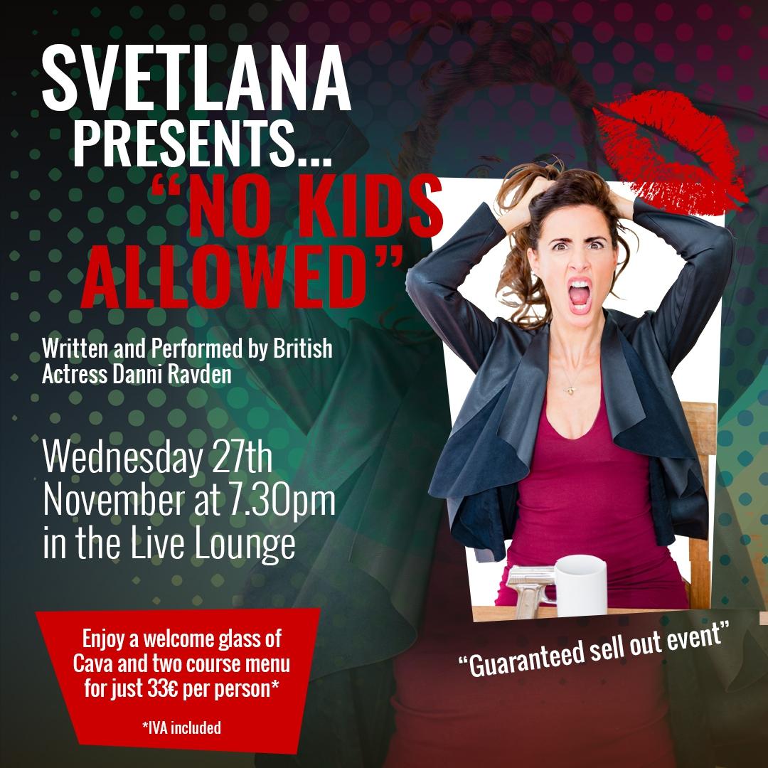 Dinner Show with Svetlana Stanislav